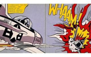 Изображения в интерьере с использованием комиксов