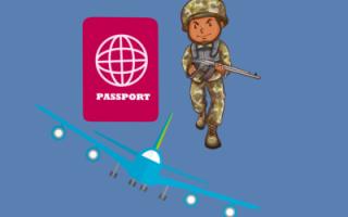 Выезд в Германию для военнослужащего, который в отпуске