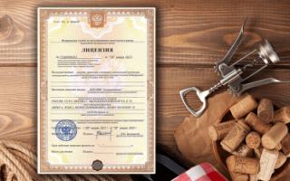 Какая лицензия нужна для розничной продажи слабоалкогольных напиток?