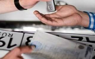 Езда на незарегистрированном автомобиле