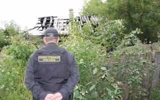 Арест садового участка