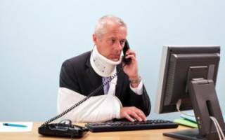 Как добиться оплаты больничного после производственной травмы?